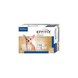 EFFITIX 1,5-4Kg 4 pipettes
