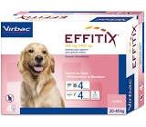 EFFITIX 20-40Kg 4 pipettes