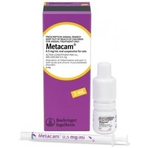 METACAM 0,5mg/ml oral cats 3ml