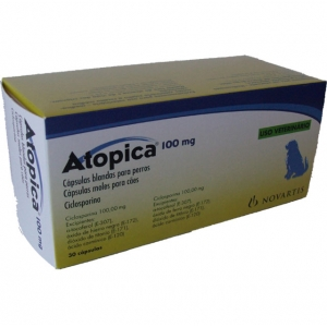 ATOPICA ® 100mg 30 Capsules ℞