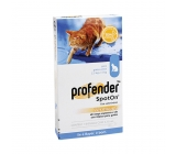 PROFENDER SPOT-ON Cat 2,5 to 5kg dewormer 1 pipette