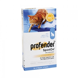 profender spot on cat 2 5 to 5kg dewormer 1 pipette. Black Bedroom Furniture Sets. Home Design Ideas