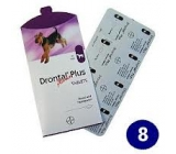 DRONTAL PLUS dog 8 pills