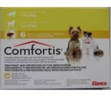 COMFORTIS 140mg dogs from 2,1 to 3,0Kg cats from 1,9 to 2,8Kg monthly Flea treatment 6 pills