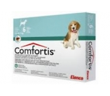 COMFORTIS 665mg dogs 9,5 to 14,7Kg monthly Flea treatment 6 pills