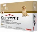 COMFORTIS 1620mg dogs 23,2 to 36,0Kg monthly Flea treatment 6 pills