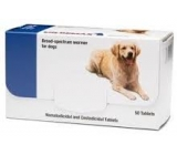 Milbemax dog 5 to 25Kg dewormer 50 pills