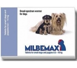 MILBEMAX SMALL DOG from 0,5 to 5Kg dewormer 1 pill