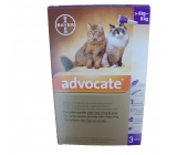 ADVOCATE FOR CATS from 4-8Kg 3x0,8ml pipettes