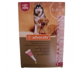 ADVOCATE FOR DOGS from 10-25Kg 3x2,5 ml pipettes