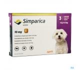 SIMPARICA 10mg 2,5-5Kg Box of 6