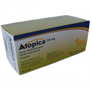 ATOPICA ® 25mg 30 Capsules ℞