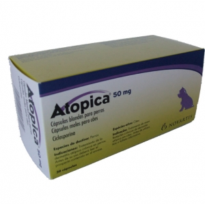 ATOPICA ® 50mg 30 capsules ℞