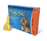 PRAC-TIC DOGS 2-4,5KG - 3 SPOT-ON BOX