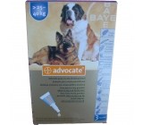 ADVOCATE FOR DOGS over 25Kg 3x4,0 ml pipettes