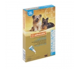 ADVOCATE FOR DOGS from 4-10Kg 3x1,0 ml pipettes